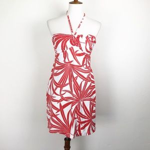 Tommy Bahama Size Medium Swim Dress Coral Palm